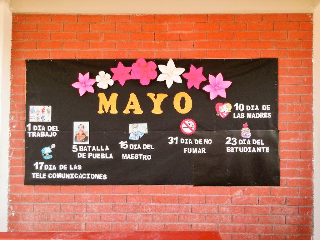 Cecytec Sabinas On Twitter Periodico Mural Del Mes De Mayo De 2017