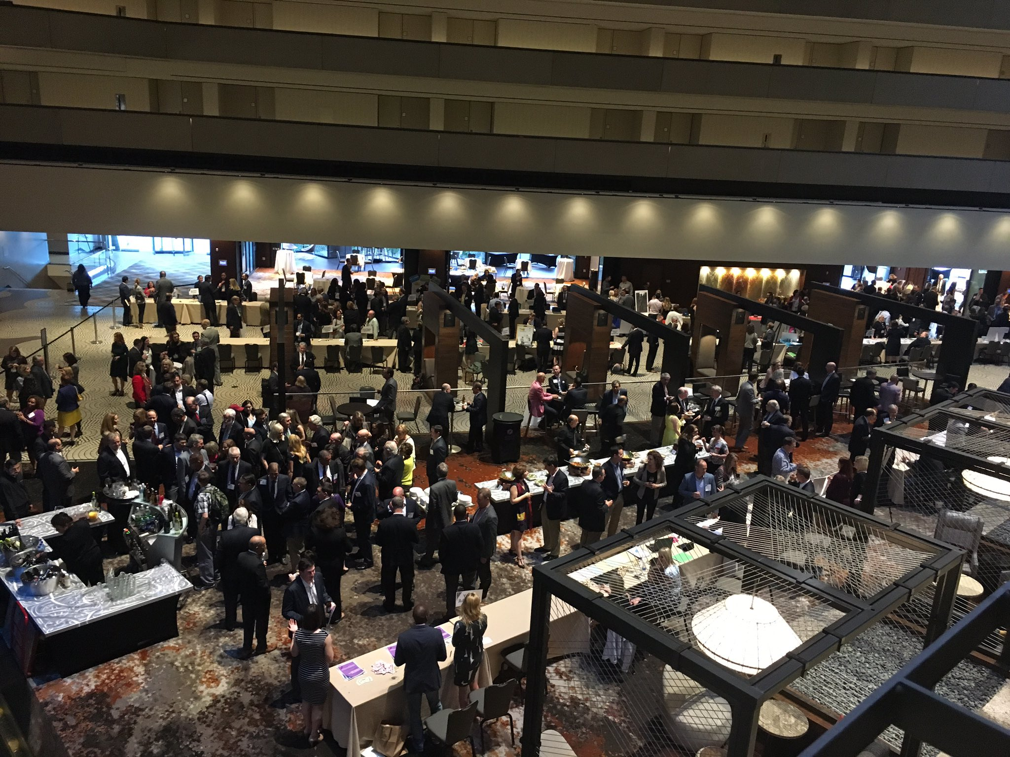 Awesome opening reception and committee expo! #LitigationSAC https://t.co/TKfehGCGbw