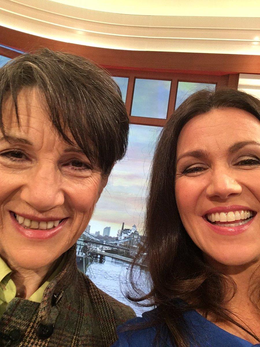 Susanna Reid On Twitter Interviewing The Brilliant Dame Harriet