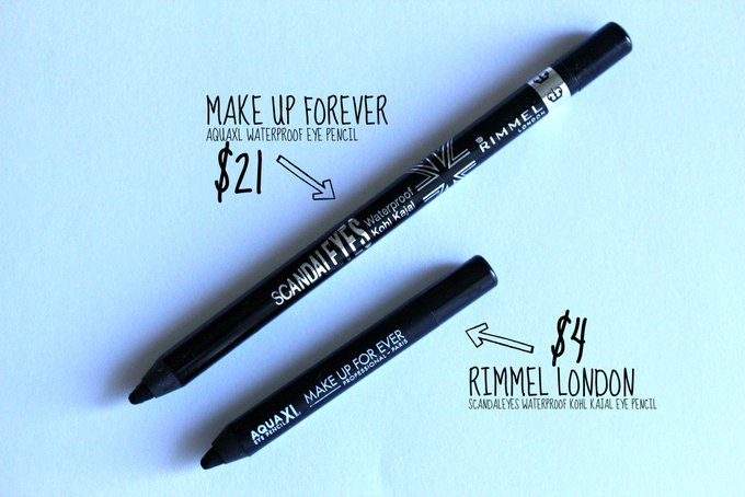 Eyeliner Wars: Make Up Forever vs. Rimmel London