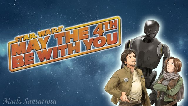 #StarWarsDay #MayThe4thBeWithYou #StarWarsLATAM Feliz día amigos!! Happy day friends!! pic.twitter.com/1EBR4At5Lq