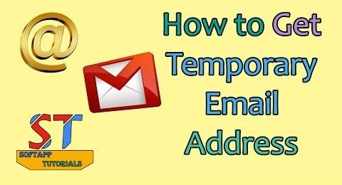 How to Get Temporary Email Address