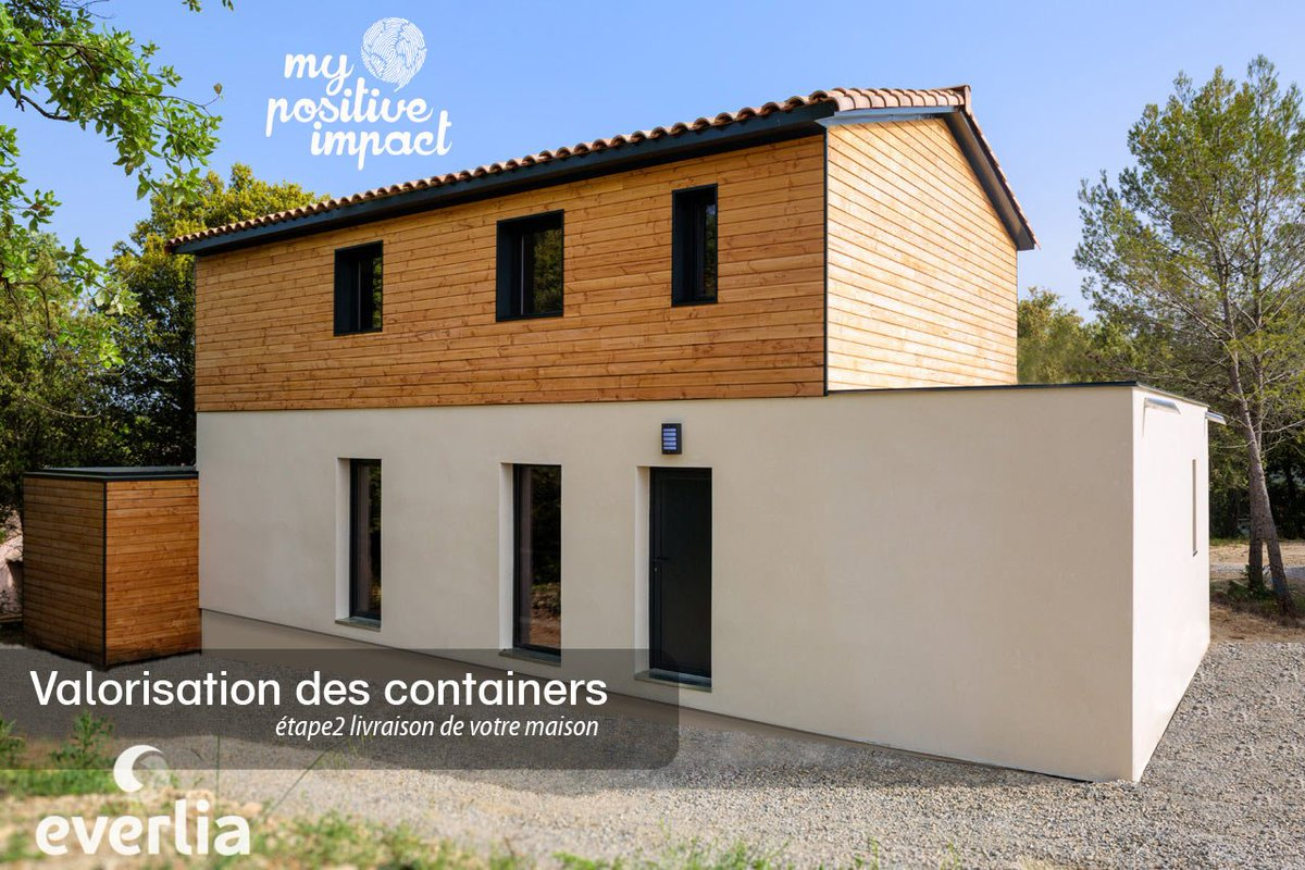 Comment construire sa maison container fashion designs for Cout construire une maison