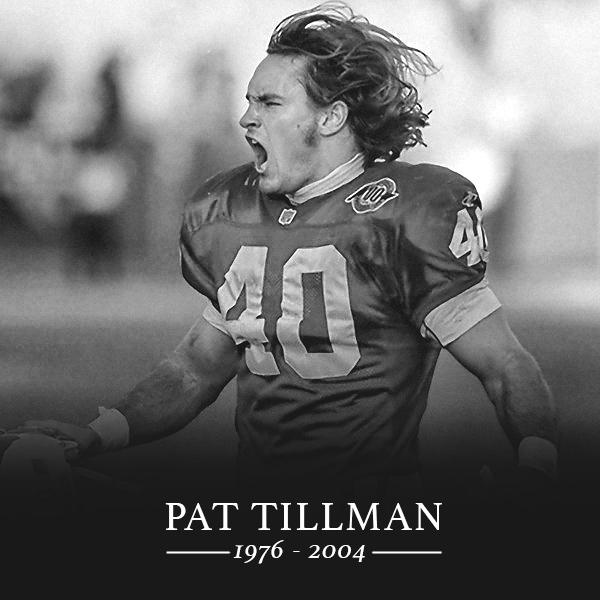 13 years ago today, former @AZCardinals S Pat Tillman lost his life protecting this country. #RIP
