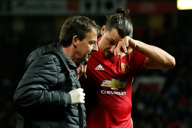 Reports have suggested that Zlatan Ibrahimovic will be out until 2018 with a ruptured ACL. #Zlatan #Ibrahimovic #ManUtd #MUFC<br>http://pic.twitter.com/W7OQiNnJ0N