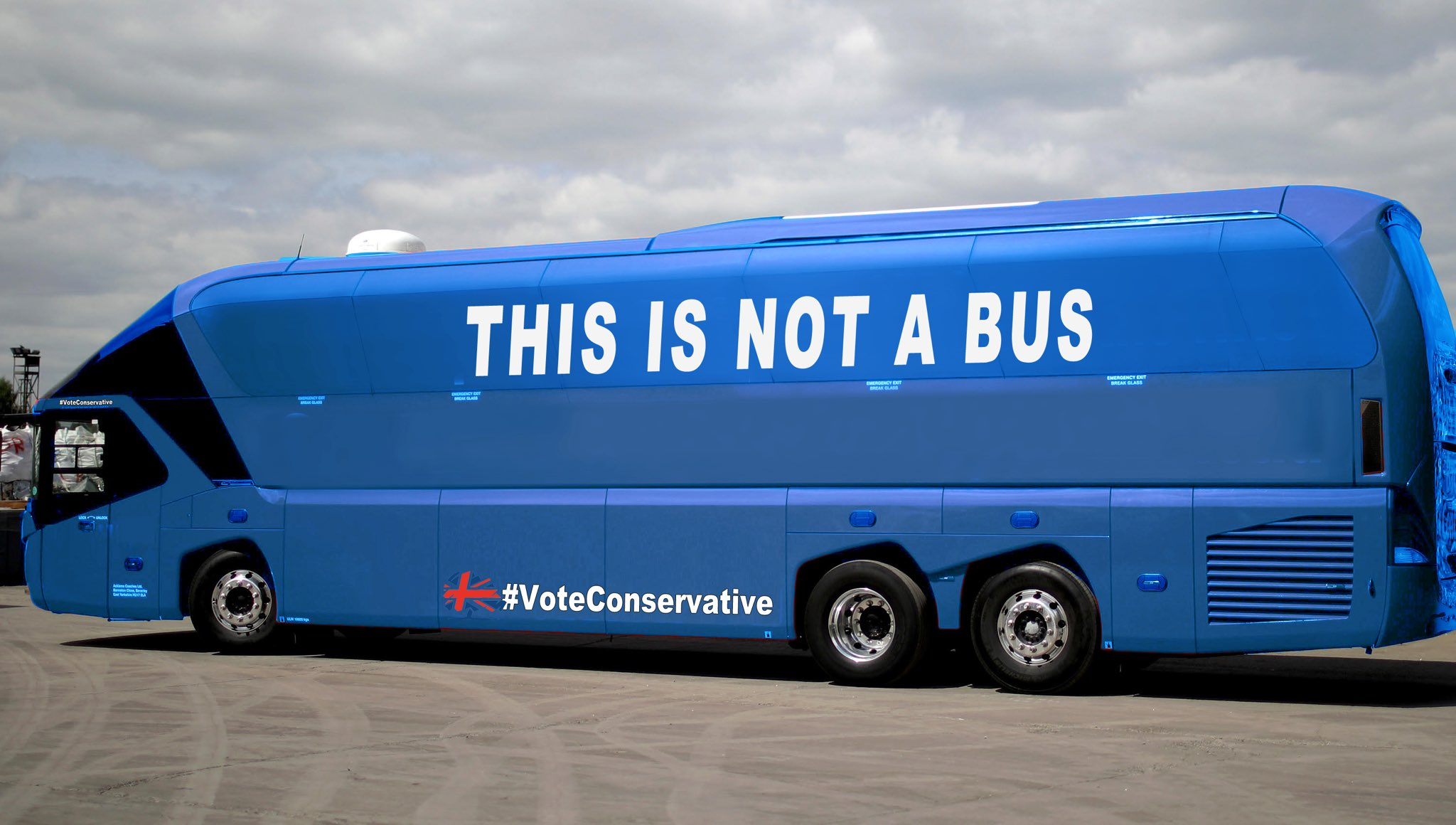 Given what happened at the referendum, I'm looking forward to seeing what the Tories put on their bus. https://t.co/TIacS1xPAO