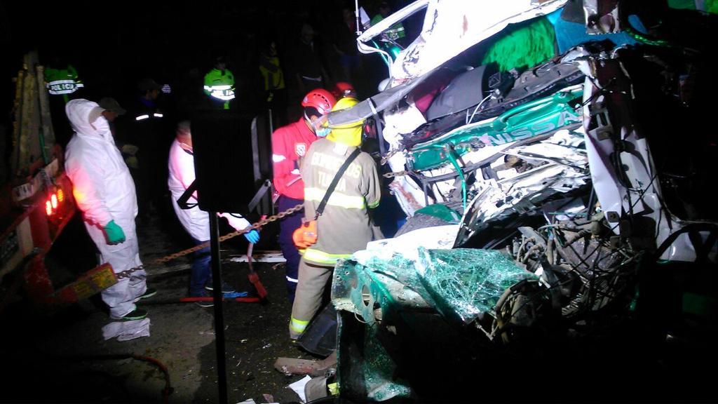 Dos muertos deja accidente de tránsito en Tunja