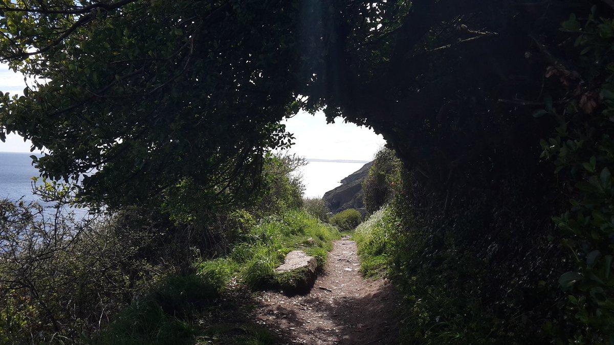 Enjoyed staying @GraniteHenge but time to go.  The coastal walk to Polperro worth it! #lovecornwall #cornwall #Polperro #ilovelooe #walking