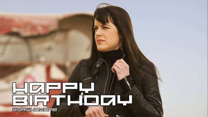 Happy Birthday Michelle Ryan, who played Lady Christina de Souza in Planet of the Dead...
