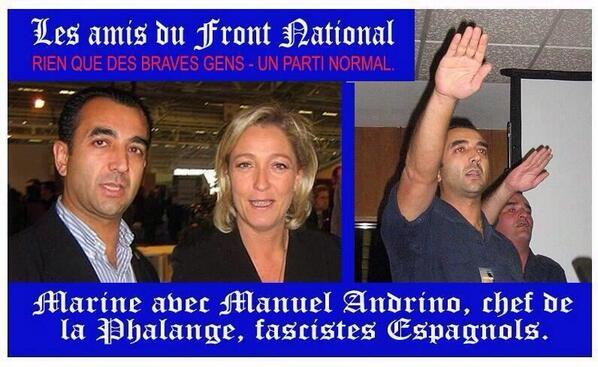 Marine Le Pen had friends in low places. #LePen #macron #fillon <br>http://pic.twitter.com/XNvZRlelBl