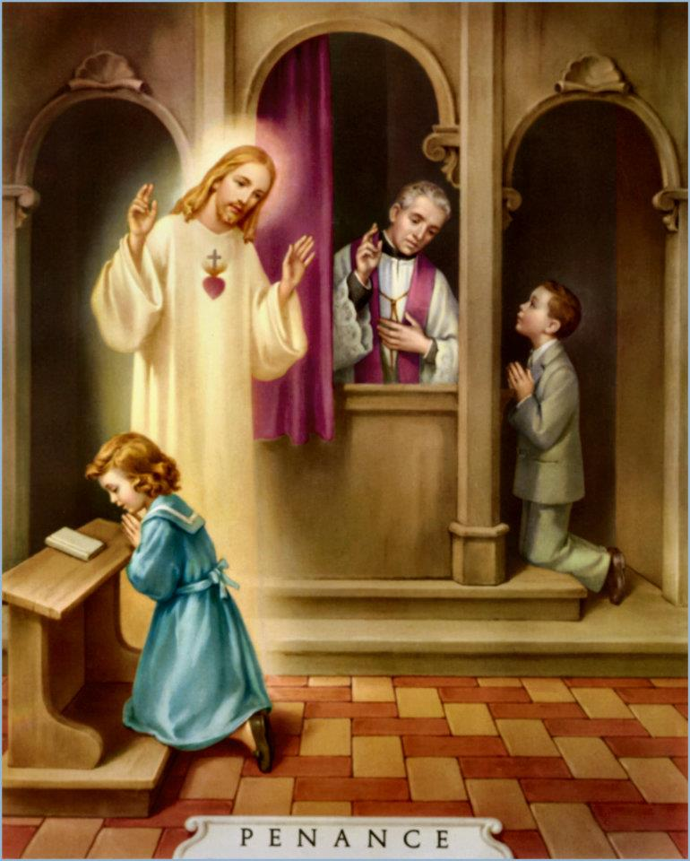 Go to Confession in preparation for tomorrow&#39;s Feast of Divine Mercy! #DivineMercy #confession #Reconciliation<br>http://pic.twitter.com/VjpAVEZtwC