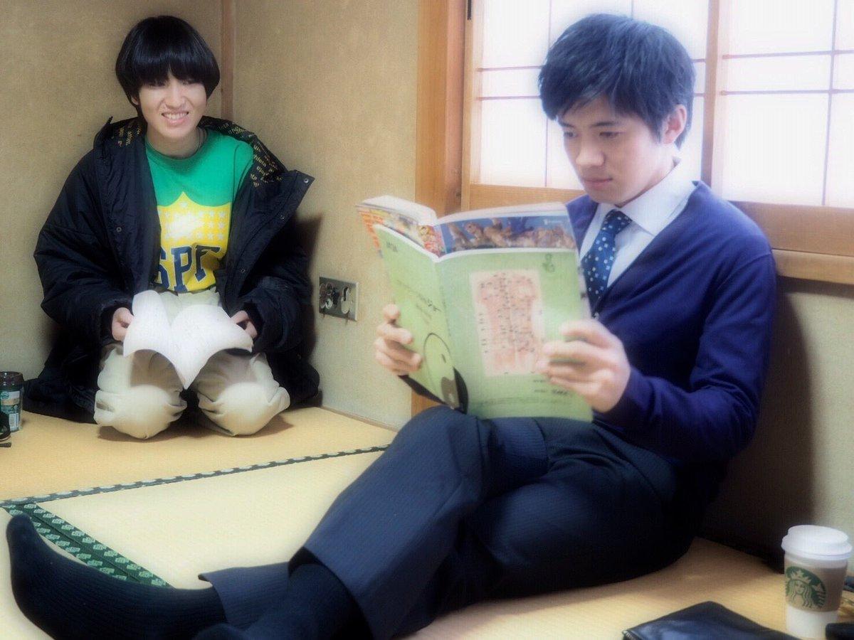 台本を読む和田正人