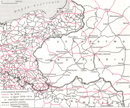 Onlmaps On Twitter Rail Network Difference Between German And Russian Partition Https T Co Yvtnv6ahb2 Maps