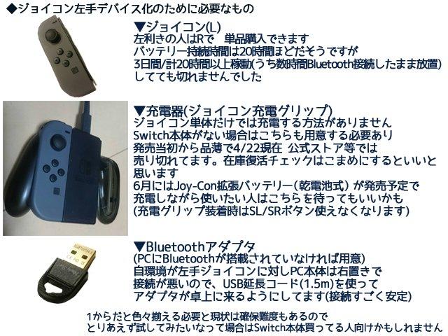 Xion On Twitter Switchジョイコンをイラスト作業左手デバイスにする