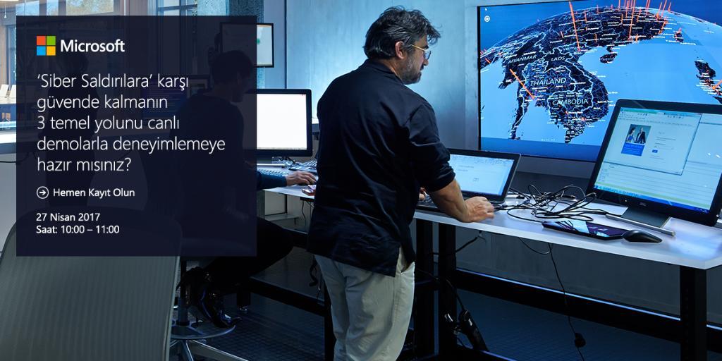 test Twitter Media - Microsoft Güvenlik Yaklaşımları web yayınımız, @OrayE'nin demo sunumlarıyla 27 Nisan, saat 10:00'da. Kayıt için: https://t.co/vbBAMsGoz7 https://t.co/zECde4FL8v