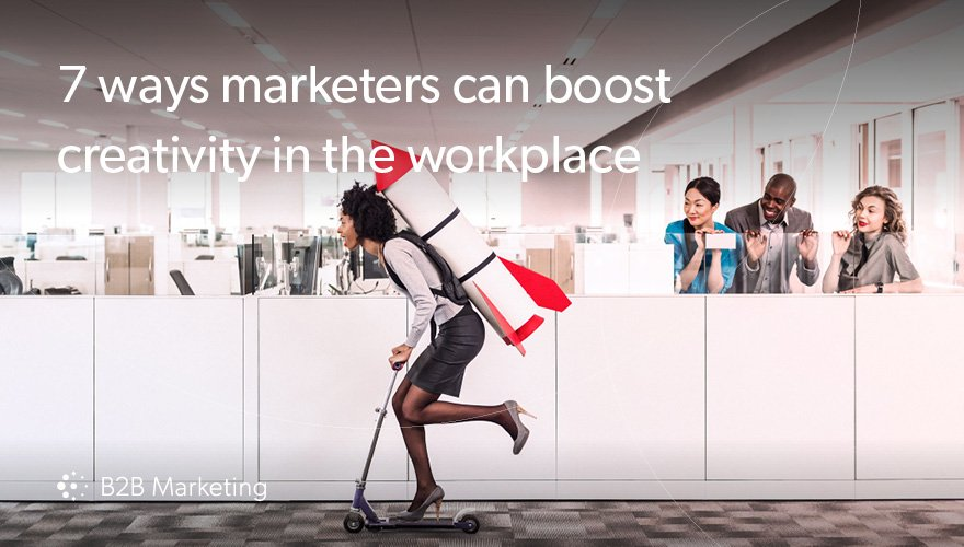 7 ways marketers can boost creativity in the workplace https://t.co/OaDv4G2Iwx https://t.co/DBTfSigLEL