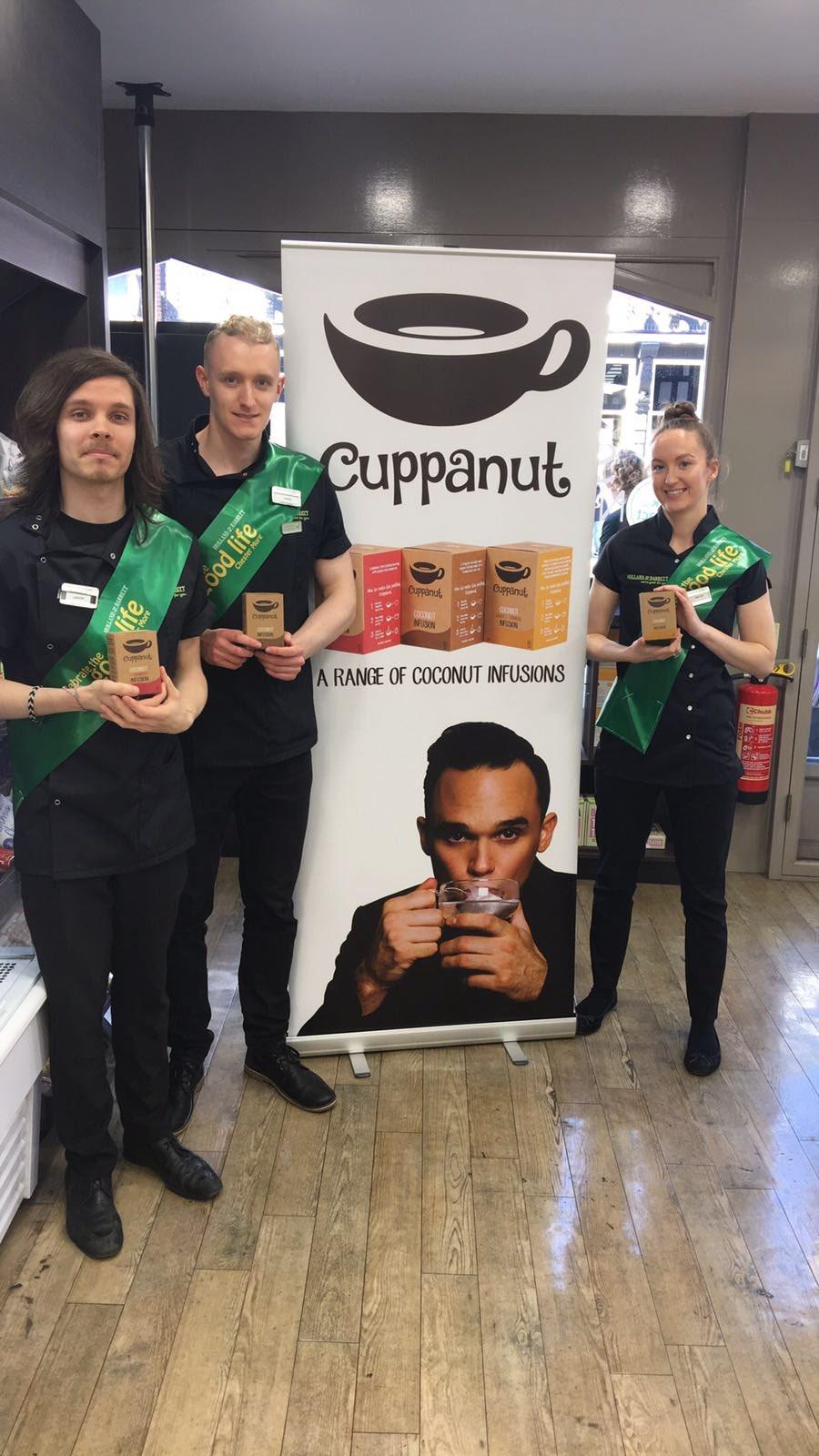 The @holland_barrett team in Chester seem to LOVE @cuppanuttea https://t.co/6VKYq7DNY8