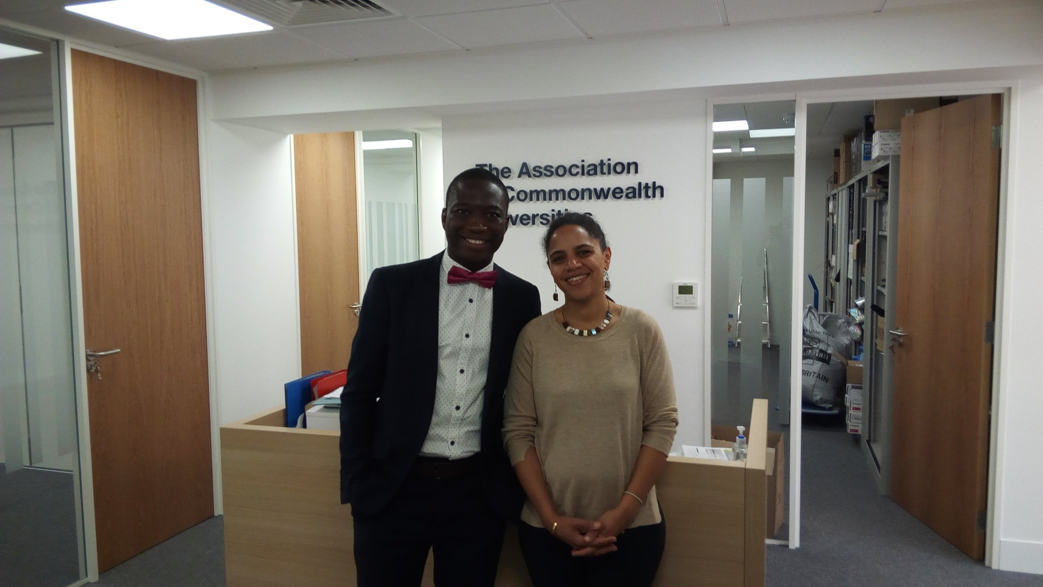 """Olushola Fadairo on Twitter: """"#CIRCLEAfrica With Jay on my visit to The ACU  office, London en route to Cambridge for the Int. Conf. on Climate change:  Impact & Responses.… https://t.co/ashoVTLrZ4"""""""