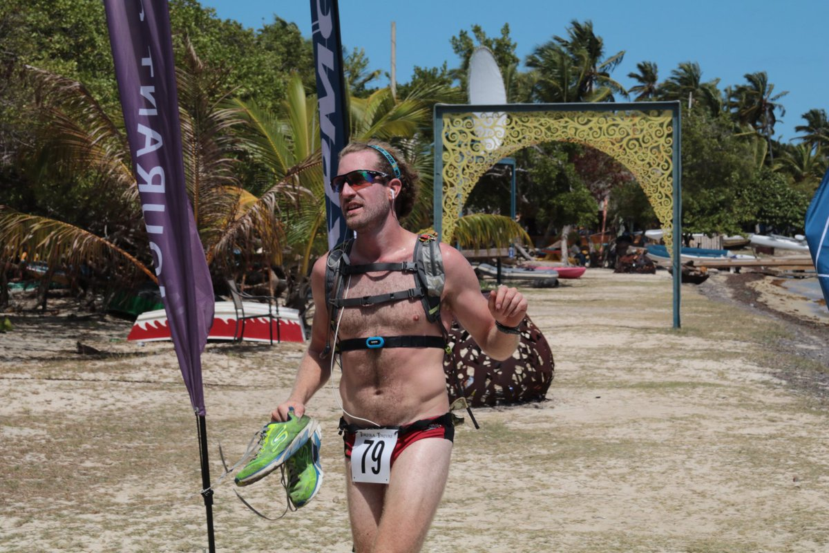 Vincent Fournier is the 1st male individual to finish in 5:35:14. Congratulations Vince! #bvi #ultramarathon <br>http://pic.twitter.com/L61AgKc8Gk