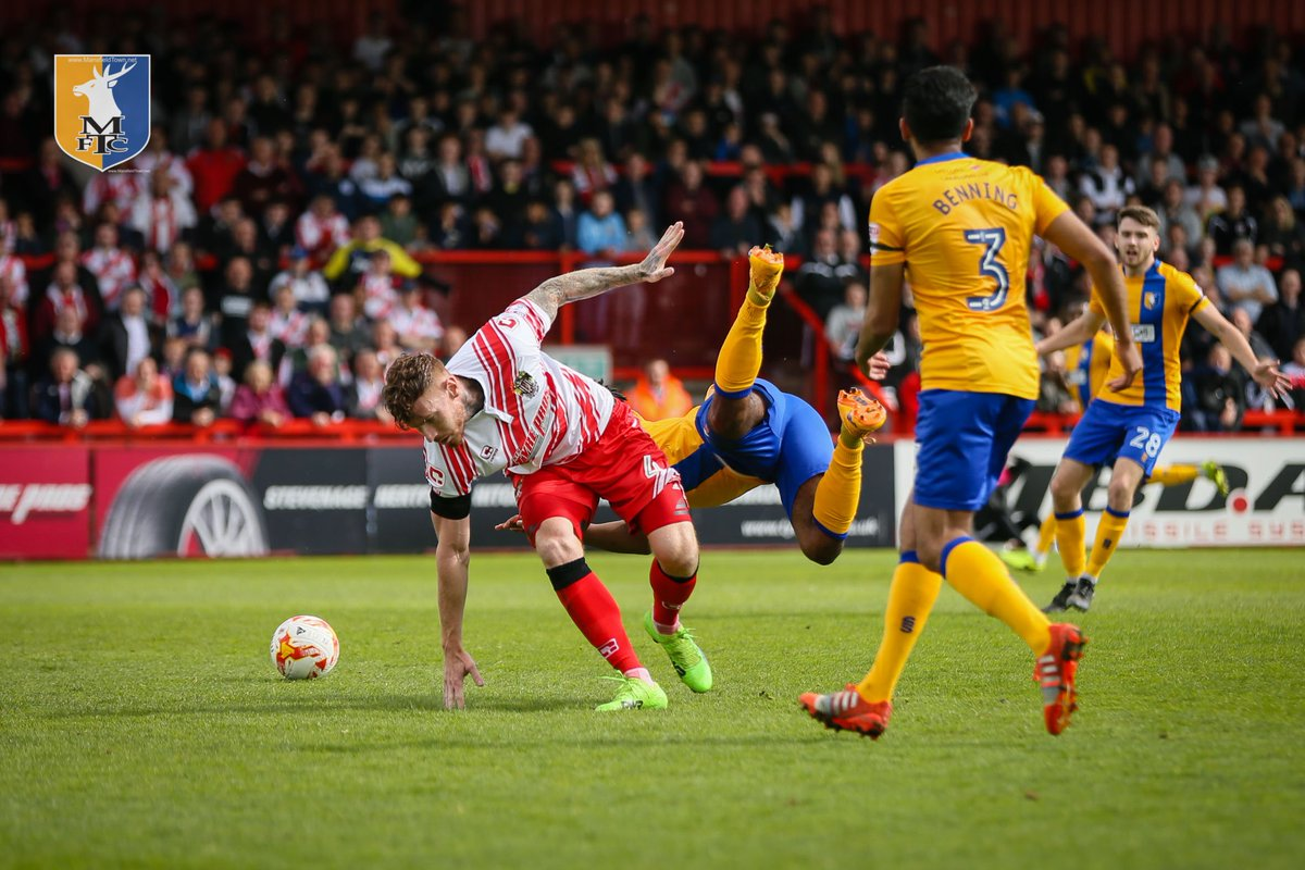 "Mansfield Town FC on Twitter: ""PHOTO: 1st half action ..."