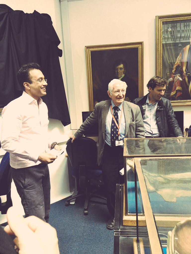 Dr M Ali Abbasi On Twitter But The Real Honour Today Was To Meet My Teacher Mentor And Hero The Legendary Professor Harold Ellis For The Unveiling Of His Portrait Https T Co Jowryw8wut