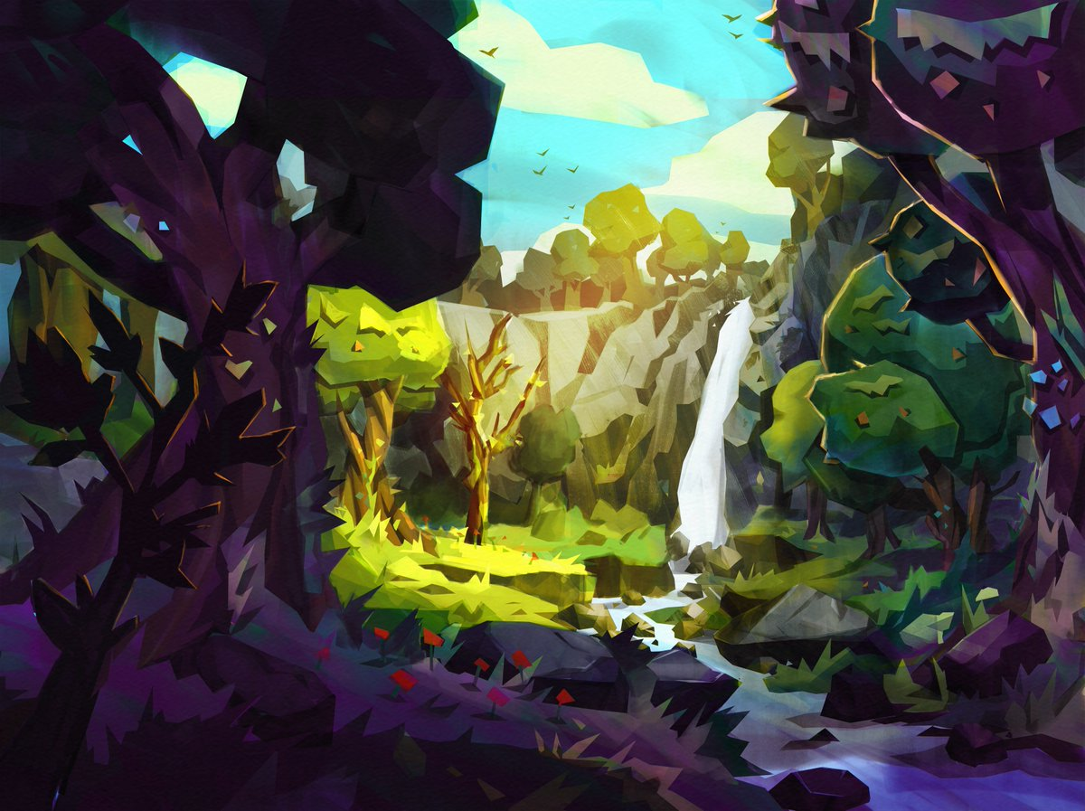 Part point-and-click adventure, part puzzler Along Together by @TurboButtonInc is coming soon to #Daydream. Concept art by @trudicastle.
