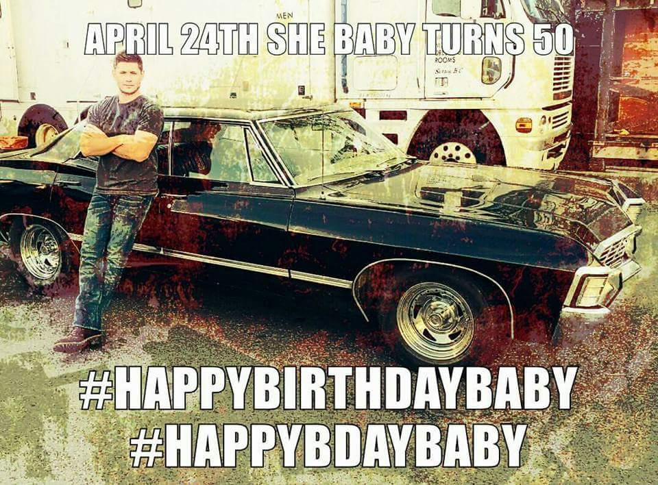 SPN Baby Cwspnbaby Twitter - Supernatural show car