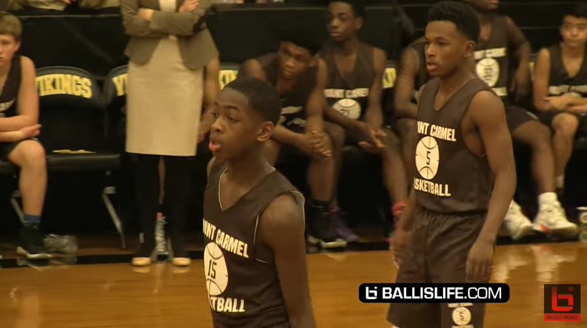 Dwyane wade's son and nephew are on the same hs team balling out
