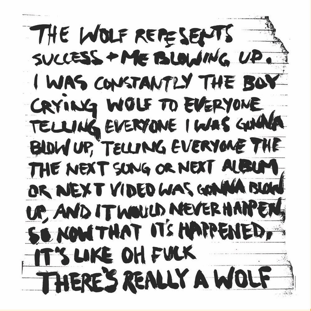 Russ On Twitter Story Behind Album Title Theres Really A Wolf
