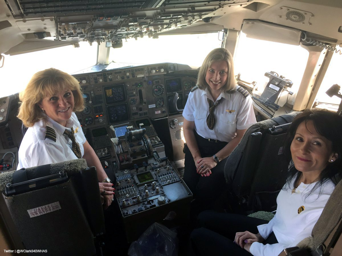 The #ThunderOverLouisville airshow this afternoon will feature a @UPSAirlines plane with an all-female crew. 👩✈️✈️ cjky.it/2ocNfam