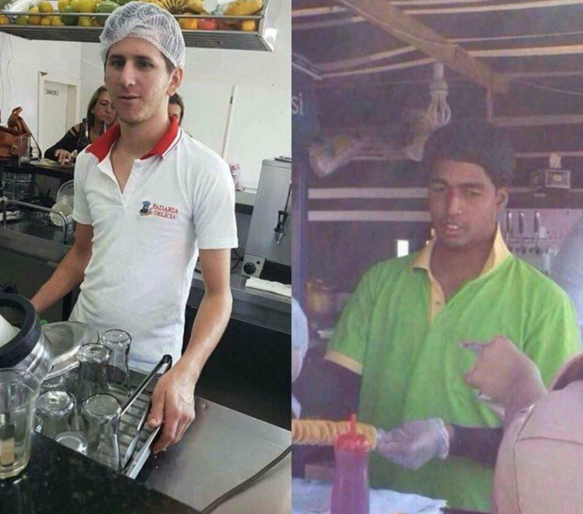 As dem don kick Barcelona commot for Champions League, Messi and Suarez don find work. #UCL <br>http://pic.twitter.com/LIo8Co84zq