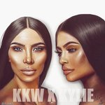 Only 3 days for the release of the KKW x KYLIE collection!! Amazing draw by @adbks on Instagram