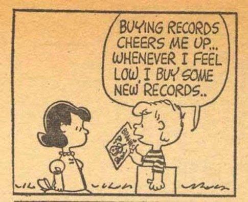 Peanuts had it right. #RecordStoreDay https://t.co/OUmDGfi3NF