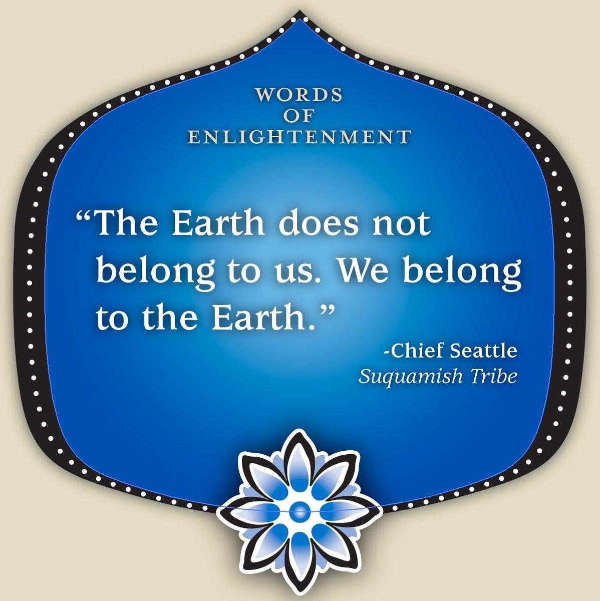 #EarthDay #ItsOurFuture #WordsofEnlightenment #GTsKombucha https://t.co/4KaUQPgBNY