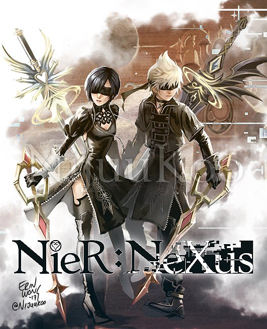 nij on twitter i think about the yorha outfits a lot