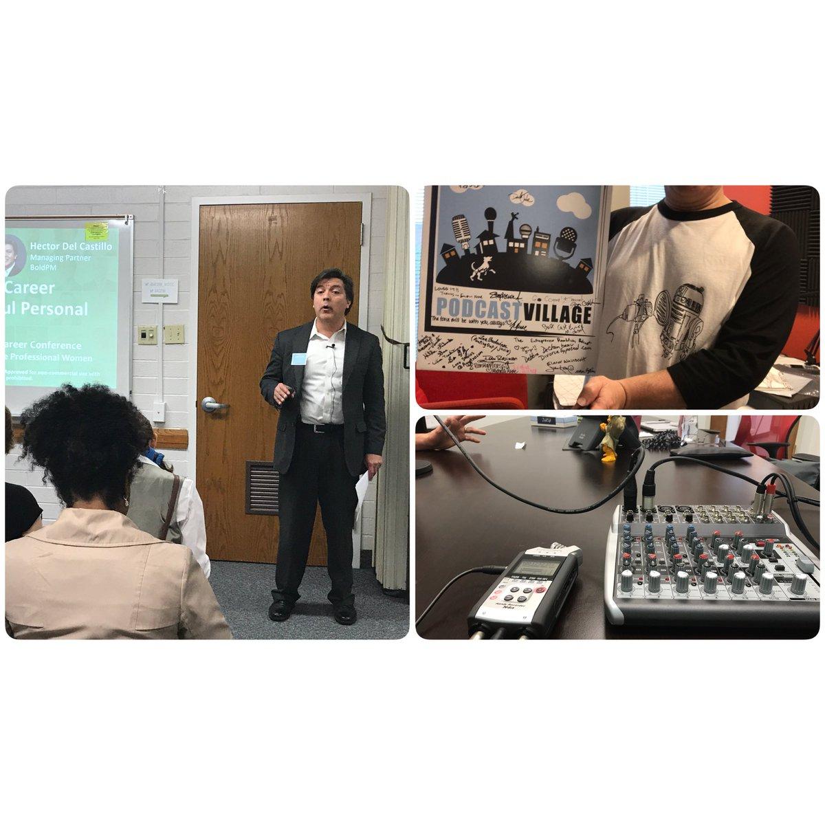 The great @hmdelcastillo speaking at the #ACPWConf on #PersonalBranding - &amp; a few studio shots!... #rebeltalk #behringer #zoom #r2d2<br>http://pic.twitter.com/AArkJt94Tt &ndash; à The Church of Jesus Christ of Latter-day Saints