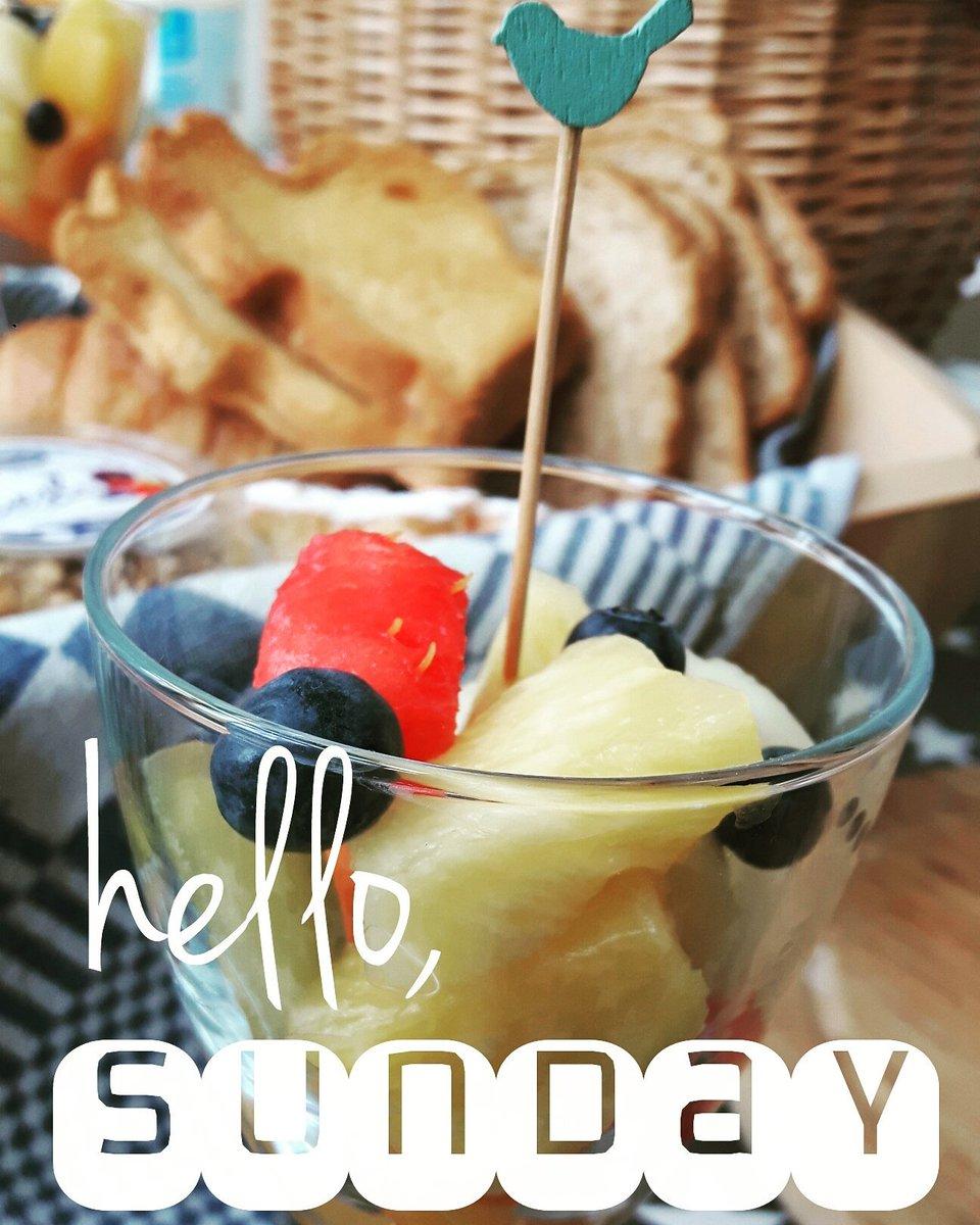 hello Sunday! ♡ #ontbijt #breakfast #frühstücken #dejeuner #weekendtip #weekend #fruit #BedandBreakfast  #vakantie  https://www. aanzee.com/nl/vakantiehui s-nederland/egmond-aan-den-hoef/romantisch-rinnegom.htm &nbsp; … <br>http://pic.twitter.com/IwUieadk7A