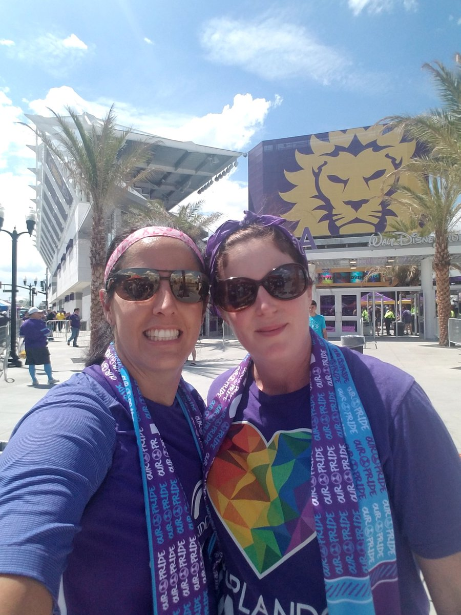 This is our #orlandopride. Come show us your #Orlando. #PrideInTheAir...