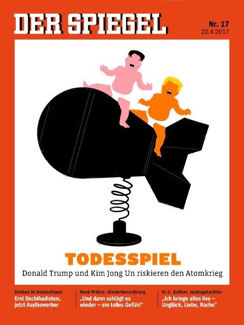 Der Spiegel's Latest Cover #RESIST #ReasonsToLeaveEarth #AMJoy #EarthDay #SundayFunday #sciencemarchdc #ScienceMarch #comey #bookfest #MedX