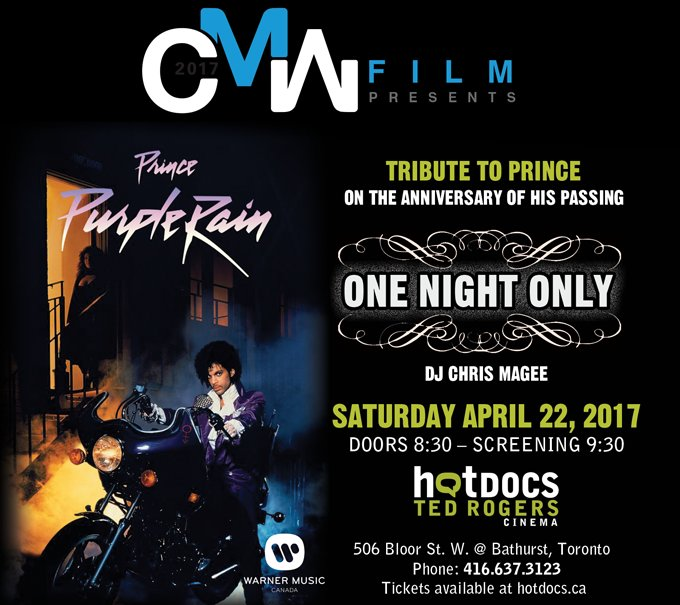 TONIGHT Dont miss a special ONE NIGHT ONLY tribute to Prince at @HotDo...