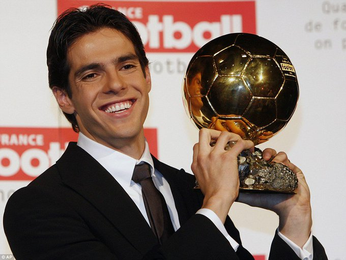 Happy Birthday The last person to win the Ballon d\Or before the Ronaldo/Messi era