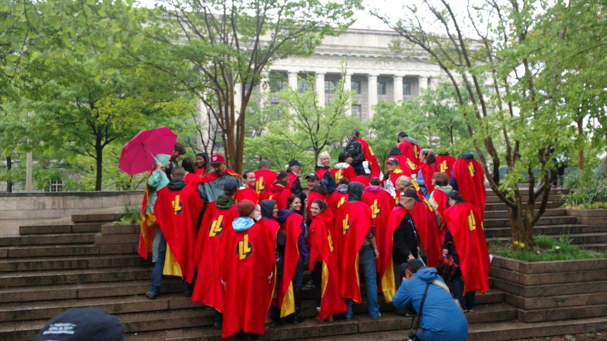 Scientists are superheroes. @legendlearning #NSTA #marchforscience https://t.co/pGohcfJvZB