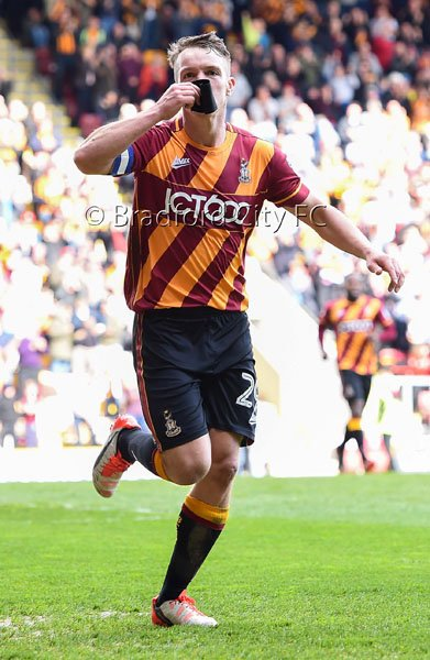#bcafc Celebrations from Tony McMahon's second goal and his tribute to Ugo Ehiogu...