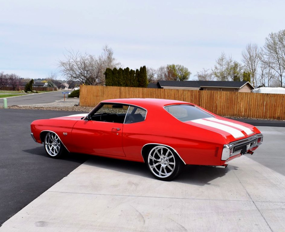 "New Chevelle Ss >> Ridler Wheels on Twitter: ""20"" .@ridler_wheels NEW Style 650 on this clean 1970 Chevelle SS 454 ..."