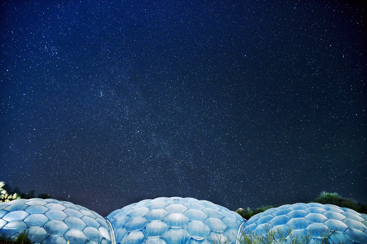 Eden Project On Twitter Great Shot Of A Clear Night Over The Biomes By Team Member Arran Walton
