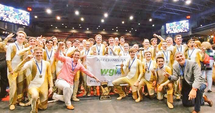 Centennial HS Indoor Drumline wins  the WGI Scholastic Open World Championship with a score of 97.1!! Way to go, Spartans! #champions <br>http://pic.twitter.com/B99zeogxkt