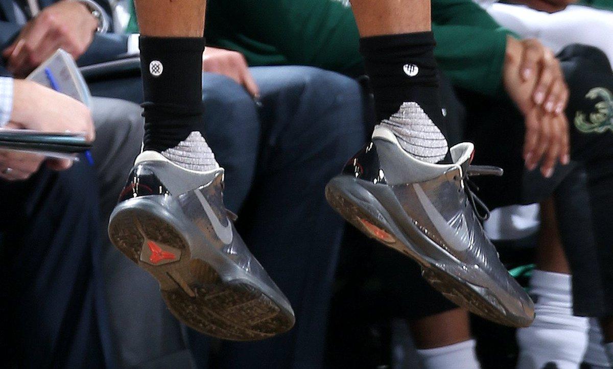 B R Kicks On Twitter P J Tucker In The Nike Zoom Kobe 5 Aston Martin Vs Milwaukee Wethenorth