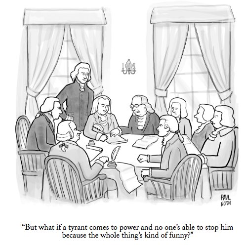 Once again, a brilliant @PaulNoth cartoon in the @NewYorker about him without naming him. https://t.co/lDLob4wHLs
