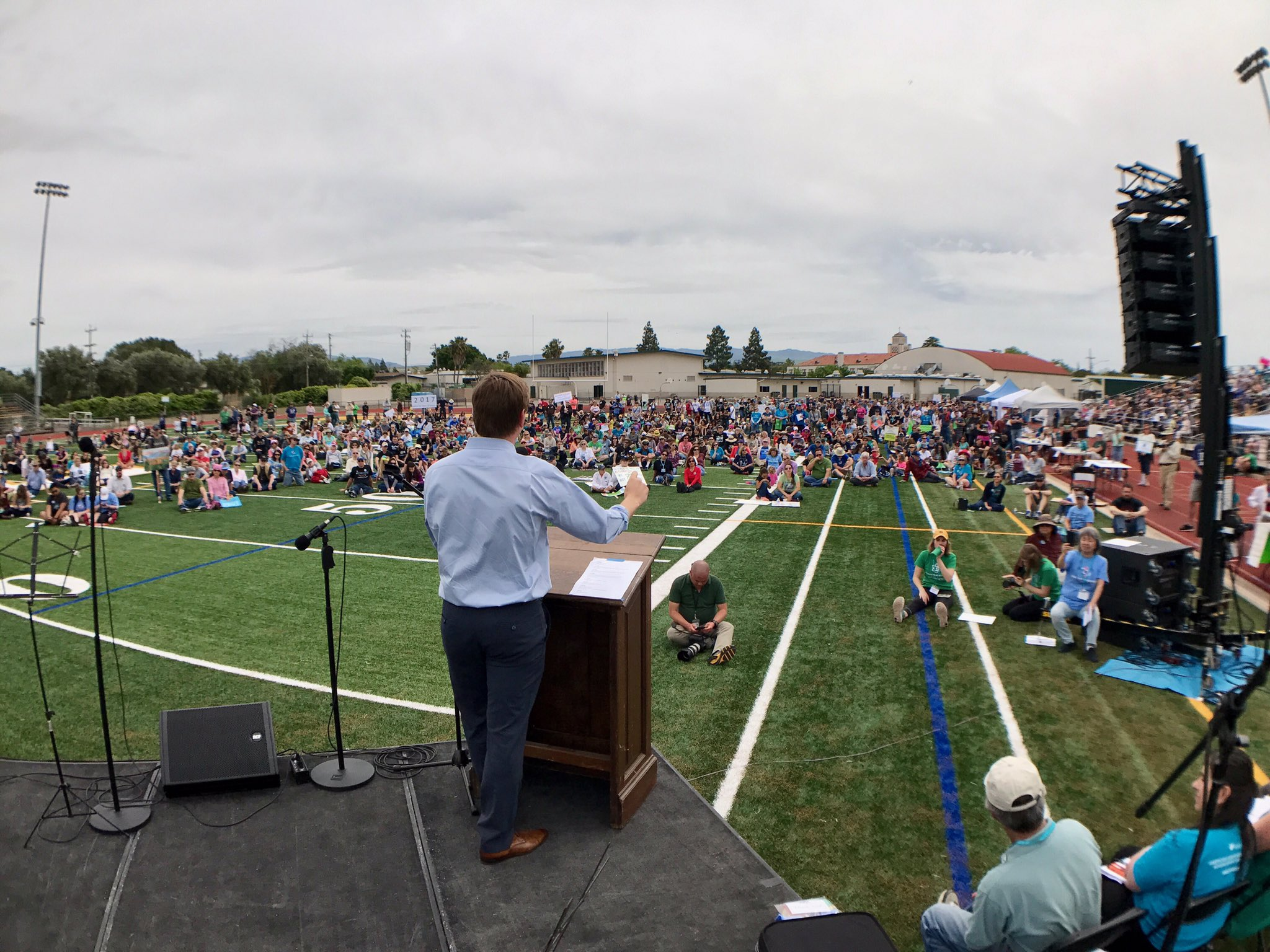 Great, gratifying turnout today at the #Livermore #MarchForScience. https://t.co/C5QPv5yX5m