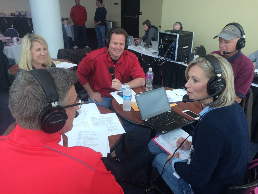 Our @840WHAS #ThunderOverLouisville team @Tony840Cruise @amynicradioch...